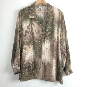 Tops - Allison Daley woman's blouse long sleeves